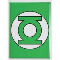 The Green Lantern Logo FRIDGE MAGNET Justice League DC Comics Comic Book A24