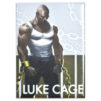 Luke Cage Power Man FRIDGE MAGNET Marvel Comics Avengers Comic Book Books O12