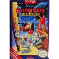 Nintendo Disney Chip and Dale Rescue Rangers FRIDGE MAGNET Video Game Box Capcom Classic NES