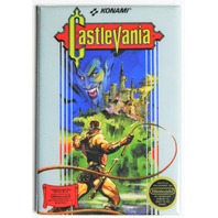 Nintendo Castlevania FRIDGE MAGNET Video Game Box Classic NES