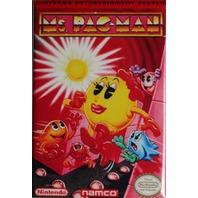 Nintendo Ms Pacman FRIDGE MAGNET Video Game Box Pac Man Classic NES