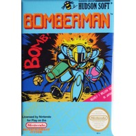 Nintendo Bomberman FRIDGE MAGNET Video Game Box Classic NES