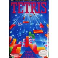 Nintendo Tetris FRIDGE MAGNET Video Game Box Classic NES