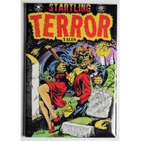 Startling Terror Tales FRIDGE MAGNET Warewolf Monster Comic Book Zombies 50s