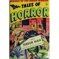 Tales of Horror No 1 Terror Man FRIDGE MAGNET Monster Comic Book 50s