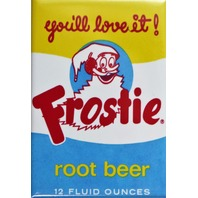 Frostie Root Beer FRIDGE MAGNET Vintage Style Soda Label Pop