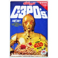 Kelloggs C-3POs Cereal FRIDGE MAGNET C3PO Star Wars