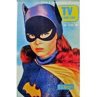 The Cleveland Press Batgirl FRIDGE MAGNET Batman Adam Wesy Yvonne Craig