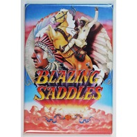 Mel Brooks Blazing Saddles Movie Poster FRIDGE MAGNET Comedy 1970s