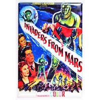 Invaders From Mars Movie Poster FRIDGE MAGNET Sci Fi 1950s E1