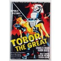 Tobor The Great FRIDGE MAGNET 1950s Sci Fi B Flick