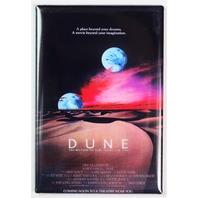Dune Movie Poster FRIDGE MAGNET 1980s Sci Fi B Flick