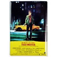 Taxi Driver Movie Poster FRIDGE MAGNET Robert Deniro 1970s