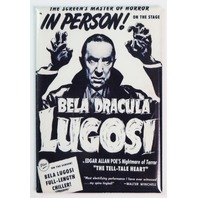 Universal Monsters Bela Lugosi Dracula Poster FRIDGE MAGNET Halloween Vampire