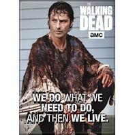 The Walking Dead Rick Grimes FRIDGE MAGNET The Saviors Daryl Dixon Zombies Negan
