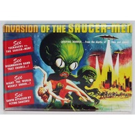 Invasion of the Saucer Men Movie Poster FRIDGE MAGNET Sci Fi Alien Monster Film UFO
