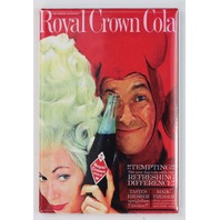 Royal Crown Cola FRIDGE MAGNET Vintage Ad Soda Pop Halloween