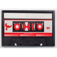 Ohio Cassette Tape FRIDGE MAGNET Ohio State OSU Music