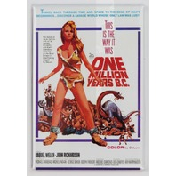 One Million Years B.C. Movie Poster FRIDGE MAGNET Sci Fi Raquel Welch