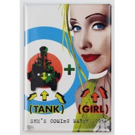 Tank Girl Movie Poster FRIDGE MAGNET 90's Alternative Comic Book Movie Sci FI