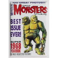 Famous Monsters of Filmland 1968 Yearbook FRIDGE MAGNET Monster Movies Beast