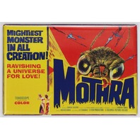 Mothra Movie Poster FRIDGE MAGNET Godzilla 1950s Sci FI Monster Film
