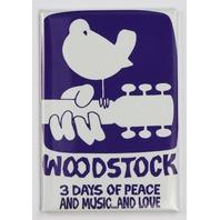 Woodstock Concert Poster FRIDGE MAGNET Gig Poster 1960s Music Festival