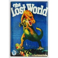 The Lost World Movie Poster FRIDGE MAGNET Dinosaur Film T Rex Sci Fi