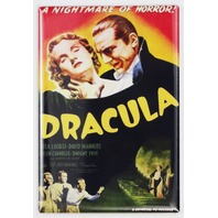 Dracula Movie Poster FRIDGE MAGNET Bela Lugosi Frankenstein Wolfman Monster