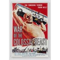 War of the Colossal Beast Movie Poster FRIDGE MAGNET Giant Monster Film 1950's Sci Fi