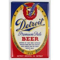 Detroit Beer FRIDGE MAGNET Detroit Brewing Co. Michigan