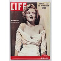 Marilyn Monroe Life Magazine Cover FRIDGE MAGNET Pin Up 1950's