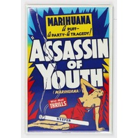 Marihuana Assassin of Youth FRIDGE MAGNET Marijuana Propaganda Movie Weed Pot