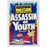 Marihuana Assassin of Youth FRIDGE MAGNET Marijuana Propaganda Movie Weed Pot