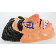 Vintage Halloween Mask Mad Sciencetist Magician Gypsy 1970's 60s  Y79