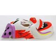 Vintage Clown Halloween Mask Circus Ben Cooper Costume IT Horror Y091