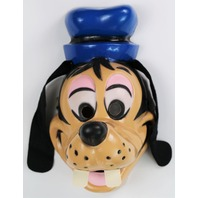 Vintage Walt Disney Goofy Halloween Mask Cesar Costume Mickey Mouse
