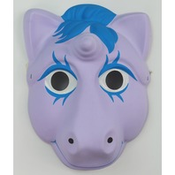 Vintage My Little Pony Halloween Mask Hasbro 1986 Unicorn 80's 1980s