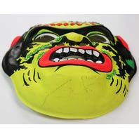 Vintage Frankenstein Halloween Mask Universal Monsters 60's 70's Y094