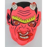 Vintage Devil Halloween Mask Demon Oni Hannya Monster Bloody Creepy Scary Horror
