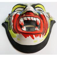 Vintage Dracula Vampire Halloween Mask Monster Y090