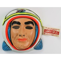 Vintage NASA Astronaut Halloween Mask Star Band 1960's 1970's Y087