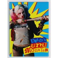 Harley Quinn Daddys Little Monster FRIDGE MAGNET Batman Joker Suicide Squad DC Comics
