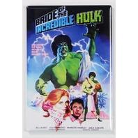 Bride of the Incredible Hulk Movie Poster FRIDGE MAGNET Marvel Comics Avengers