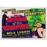 Return of the Vampire Movie Poster FRIDGE MAGNET Wolfman Bela Lugosi