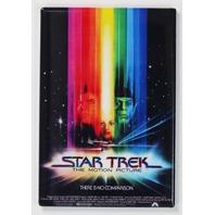 Star Trek the Motion Picture Movie Poster FRIDGE MAGNET Captain Kirk Mr Spock