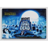 Night of the Living Dead Movie Poster FRIDGE MAGNET Romero Zombie Horror