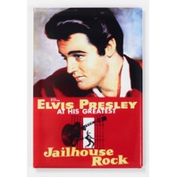 Elvis Presley Jailhouse Rock Movie Poster FRIDGE MAGNET 1950's Rock n Roll