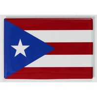 Puerto Rico Flag FRIDGE MAGNET San Juan Puerto Rican State Location Country
