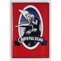 Grateful Dead Crow Logo Concert Poster FRIDGE MAGNET Jerry Garcia Music Musician
